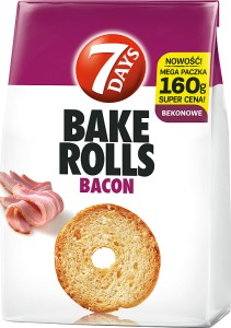 BAKE ROLLS 7 DAYS 160G BEKON